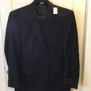 Jos.A.Bank Men's Striped Suit
